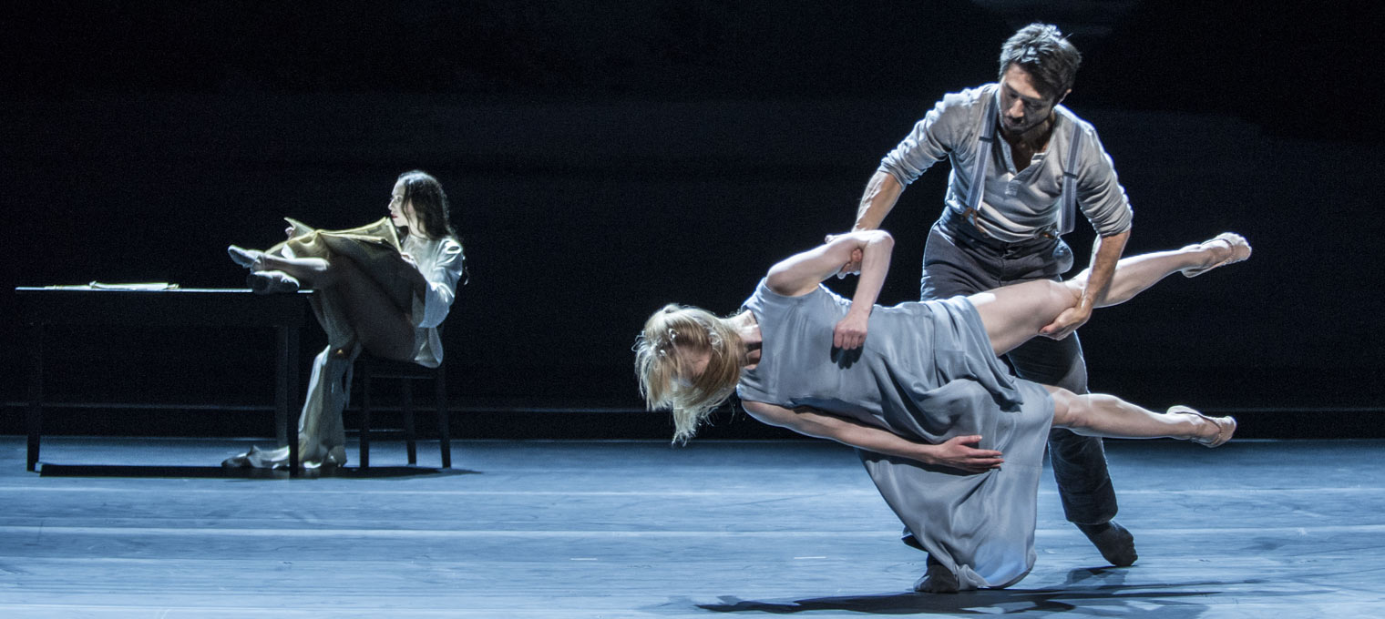 Norwegian National Ballet, Oslo, performing Ibsen's Ghosts.Choreographed by Cina Espejord. Photograph by Erik Berg. 2015 Festival performance.